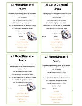Poem Book ! -Diamante, Cinquain and Haiku