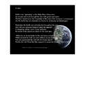 Poem Celebrating the Earth with Questions and Answers