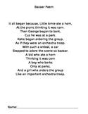 Poem Controlling R -ar -or