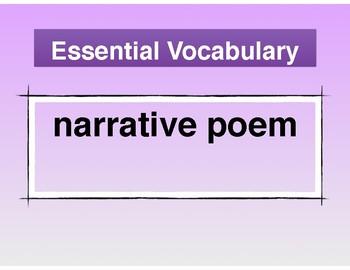 Poem Gift Standards-Based Lessons
