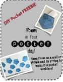 Poem In Your Pocket Day FREEBIE!