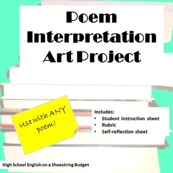 Poem Interpretation Art Project (For Any Poem)