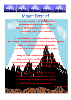 Poem - Mount Everest with a twist - Reading Strategies