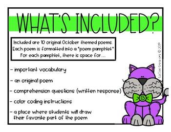 2.RL.10 - Poetry Pamphlets for October