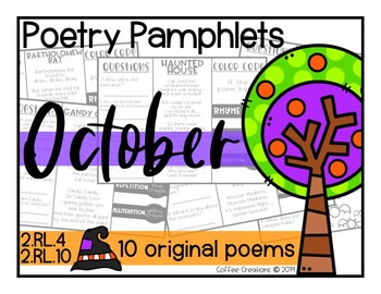 2.RL.10 - Poetry Pamphlets for October