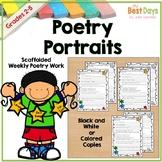 Poem Portraits:  3 Levels of Poem Practice for Classwork o
