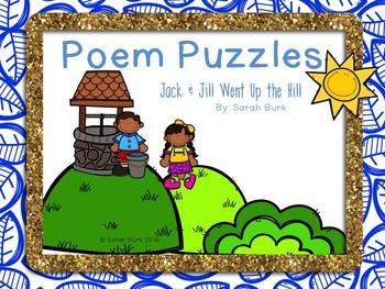 Poem Puzzles - Jack and Jill - Nursery Rhymes