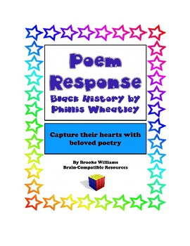 """Poem Response """"On Being Brought from Africa to America"""" by Phillis Wheatley"""