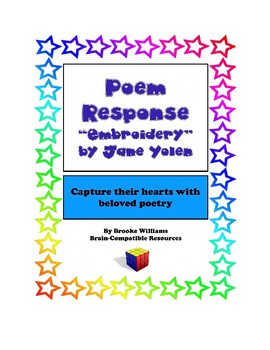 """Poem Response Questions to """"Embroidery"""" by Jane Yolen"""