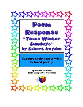 """Poem Response Questions to """"Those Winter Sundays"""" by Robert Hayden"""