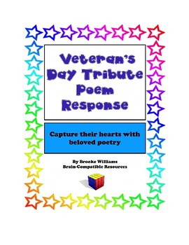 Poem Response Questions to a Veteran's Day Poem