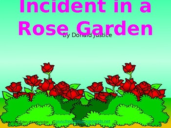 Incident in a Rose Garden by Donald Justice - Poem Review & Analysis