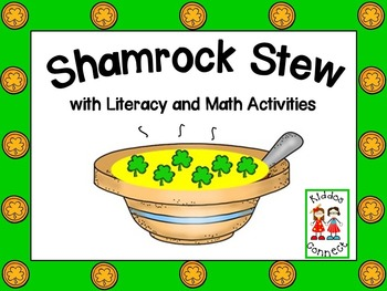 St. Patrick's Day -Shamrock Stew Book with activities