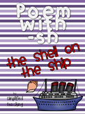 Poem/Short Story with -sh (The Shell on the Ship) {Simplif