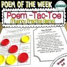Poem of the Week Fluency Practice {50 poems included!}