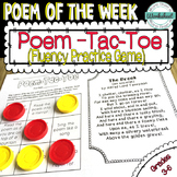 Poem of the Week Fluency Practice {50 poems included!}