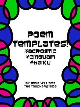 Poem Templates