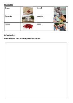 Poem - The Boxer - Inferring/Visualising Reading Strategies