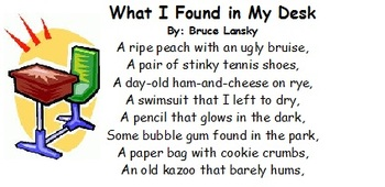 Poem- What I Found in My Desk