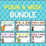 Poem a Week Bundle