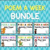 Poem a Week Bundle