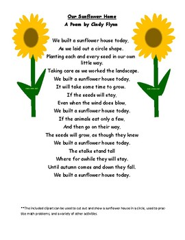 Poem about Sunflowers