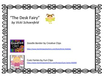 Poem for the Desk Fairy Visit