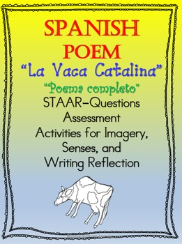 Poem in SPANISH-La Vaca Catalina-NO PREP!