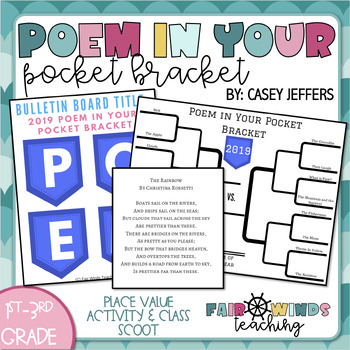 Poem in Your Pocket Bracket