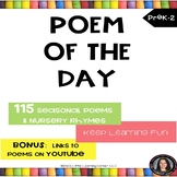 Poem of the Day | Poetry Bundle - Digital and Printable
