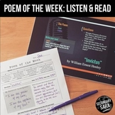 Poem of the Week Collection: a YEAR of Multimedia Poetry!