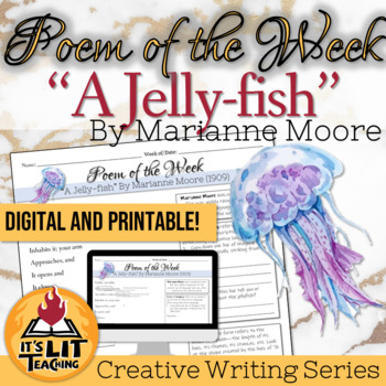 """Poem of the Week: """"A Jelly-fish"""" by Marianne Moore"""