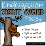 September Sight Word Poetry & Literacy Center Activities