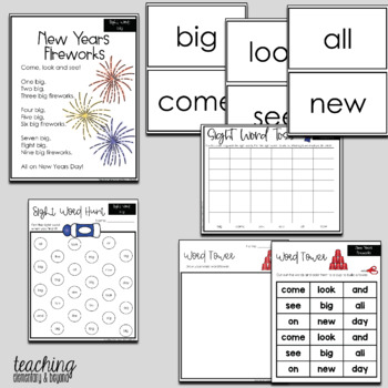 Poem of the Week and Activities for Shared Reading: Christmas and New Years
