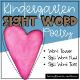 February Sight Word Poetry & Literacy Center Activities