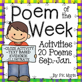 Poem of the Week Activity Pack - September-January