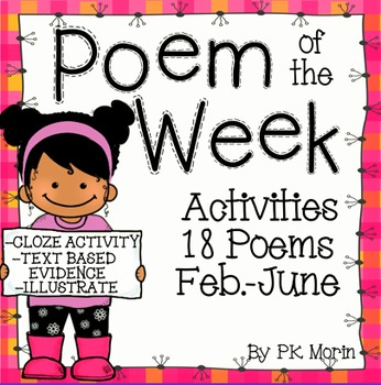 Poem of the Week Activity Pack - February-June
