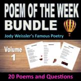 Poem of the Week Bundle Vol.1 (20 Poems & questions) Poem