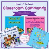 Poem of the Week Classroom Community BUNDLE