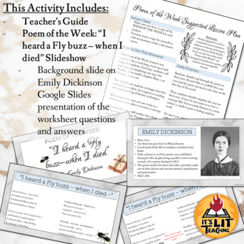 """Poem of the Week: """"I heard a Fly buzz - when I died -"""" by Emily Dickinson"""