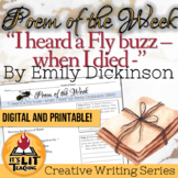 """Poem of the Week: """"I heard a Fly buzz - when I died -"""" by"""