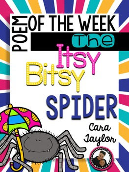Poem of the Week Itsy Bitsy Spider Nursery Rhyme