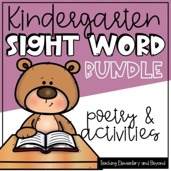 Poem of the Week Months 1-6 Bundle Original Poetry for Shared Reading