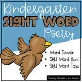 May Sight Word Poetry & Literacy Center Activities