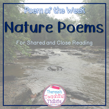Poem of the Week Nature Poems