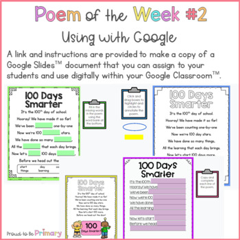 Poem of the Week - 20 poems for February to June to teach poetry