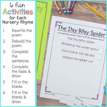 Nursery Rhymes and Activities