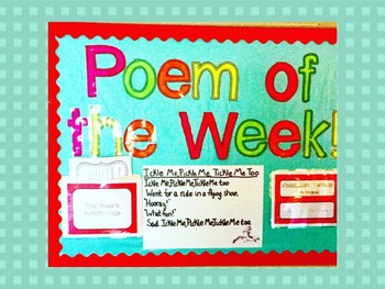 Poem of the Week Pack