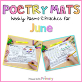 Poem of the Week Poetry Activity Mats for June  | Distance
