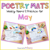 Poem of the Week Poetry Activity Mats for May  | Distance
